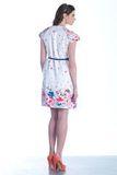 Платье для беременных 07546 цветочный принт