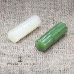 Вставка из зелёного нефрита. Колонна