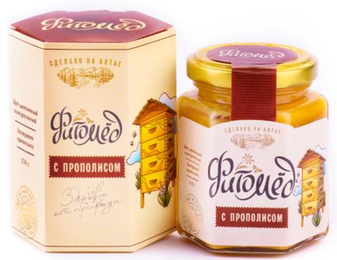 Фитомед с прополисом, 230 г Алтай