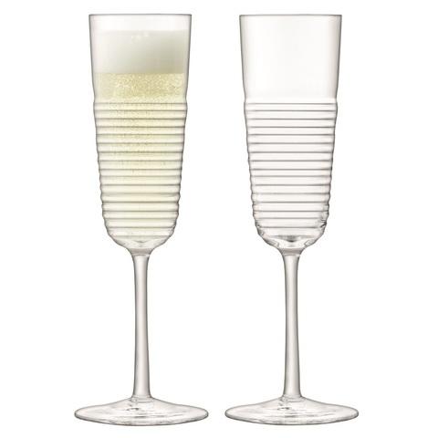 Набор из 2 бокалов-флейт для шампанского Groove, 185 мл