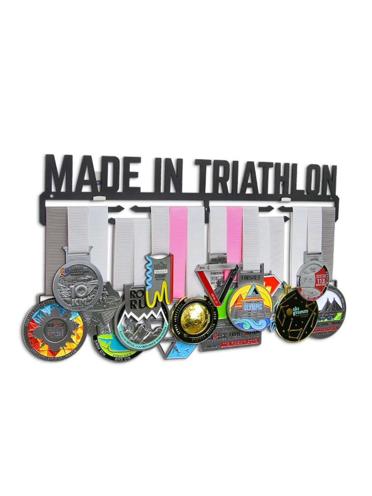 Медальница Made in triathlon