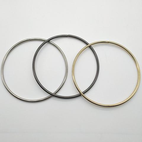 Кольцо металлическое, разъёмное  16 см., (выбрать цвет)
