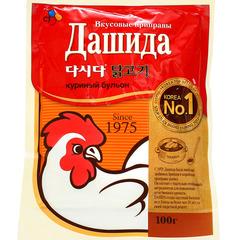 Приправа CJ Dashida со вкусом куриного бульона 100 гр