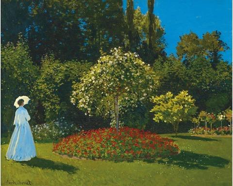 Дама в саду (DAVICI)