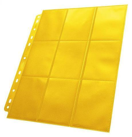 Лист 18-Pocket Pages Side-Loading Yellow