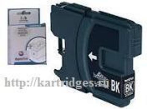 Картридж SuperFine SF-LC980 / 985Bk Черный (Black)
