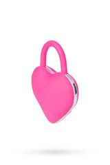 Вибромассажер в форме сердца для пар (розовый)