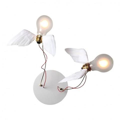 Настенный светильник копия Lucellino Doppio by Ingo Maurer