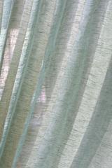 Льняная вуаль - широкая, цвет трава