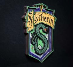 Слизерин от SamCraft - сборные объемные картины из дерева своими руками, покрась, собери и склей