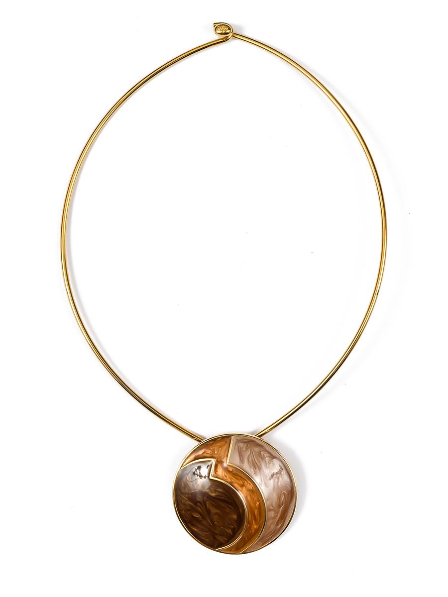 Колье Joan Rivers с кулоном, покрытым эмалью