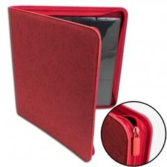 Blackfire - 12-Pocket Premium Zip-Album - Red