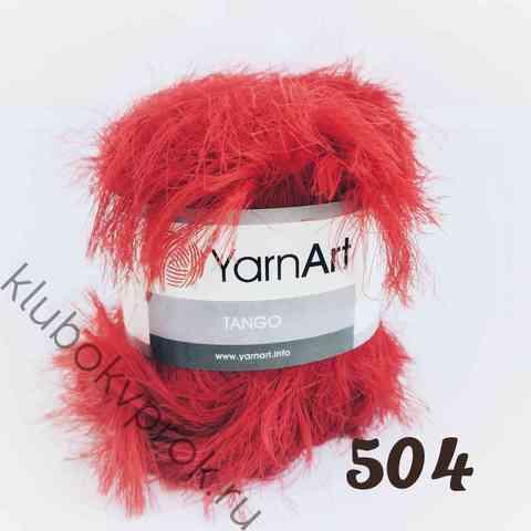 YARNART TANGO 504, Красный
