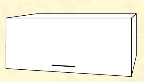 ШВГ 600 Шкаф верхний горизонтальный