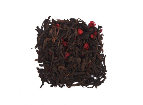 Чай Пуэр с малиной. Интернет магазин чая