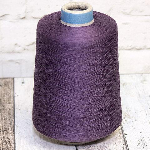 Шелк с хлопком SESIA / LOTTO 2000 фиолетовый