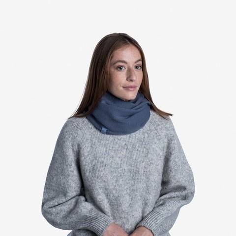 Вязаный шарф-хомут Buff Neckwear Knitted Infinity Yulia Ensign Blue фото 2