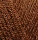 Пряжа Alize Alpaca Royal кирпичный меланж 690