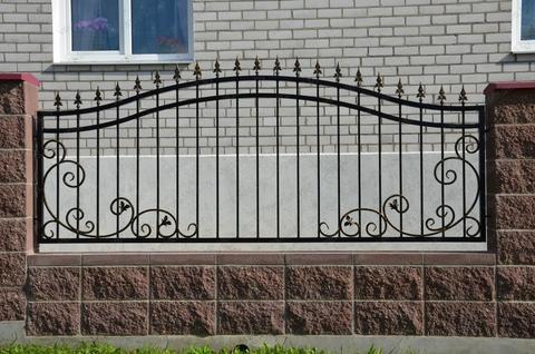 Кованый забор N-2