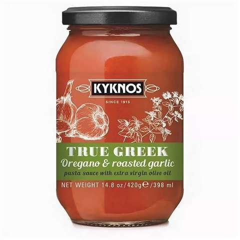 Соус из томатов,орегано и запеченного чеснока Kyknos 420гр