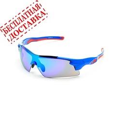 Очки солнцезащитные 2K S-14058-B (синий глянец / синий revo)
