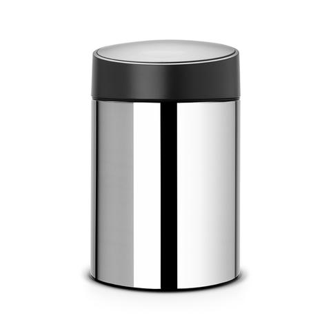 Ведро для мусора с крышкой SLIDE (5л), артикул 397127, производитель - Brabantia