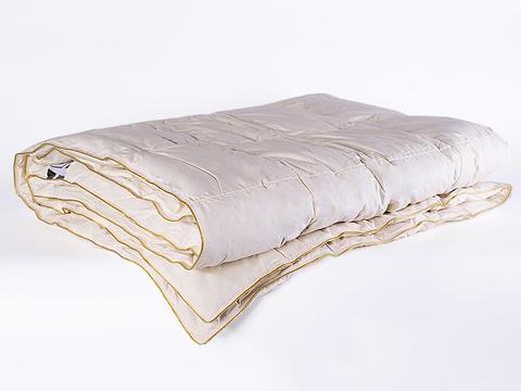 Одеяло пуховое кассетное всесезонное 172х205 Медовый поцелуй