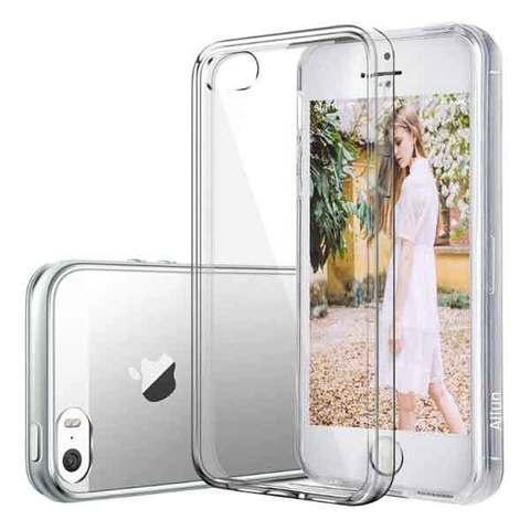 Чехол для iPhone 5 / 5S / SE - Силиконовый Прозрачный