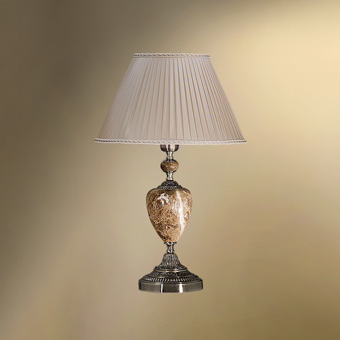 Настольная лампа с абажуром 29-08.56/9056 ВИКТОРИЯ