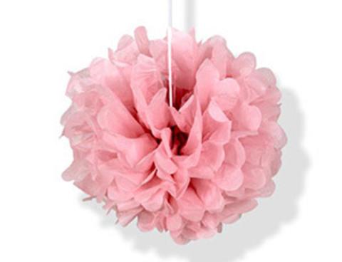 1412-0164 Помпон бумажный розовый 20см