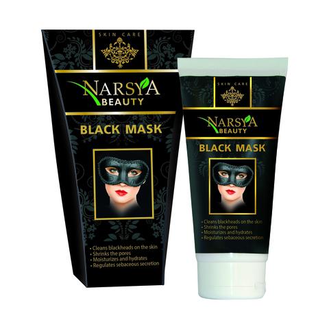 Черная маска-пленка для очищения пор кожи лица