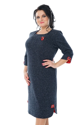 Платье-4058