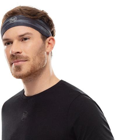 Быстросохнущая повязка Buff Fastwick Headband Barriers Graphite фото 2