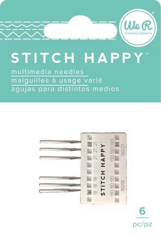 Набор игл для швейной машинки We R Stitch Happy Machine Needles -6шт.