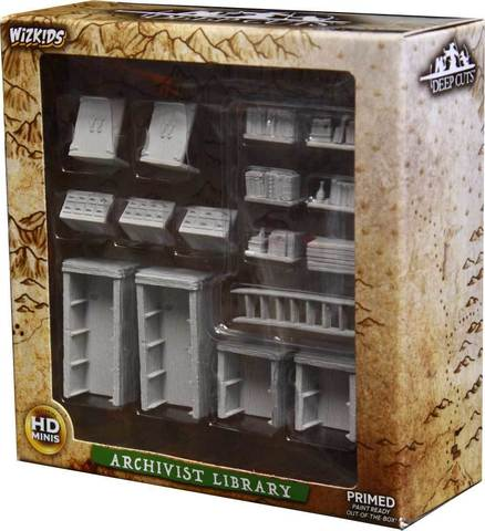 Pathfinder Deep Cuts Unpainted Miniatures - Archivist library