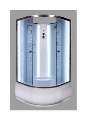 Душевая кабина DETO ЕМ4590 90х90 см с LED-подсветкой