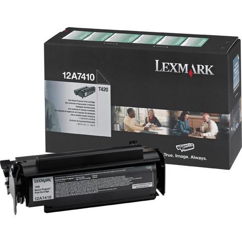 Картридж Lexmark 12A7410 черный