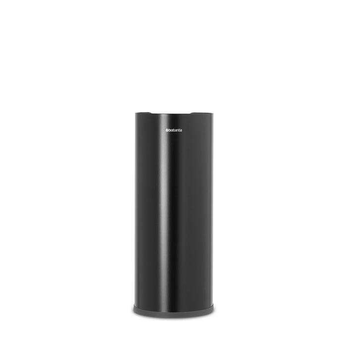 Держатель для хранения туалетной бумаги ReNew, Черный матовый, арт. 280504 - фото 1