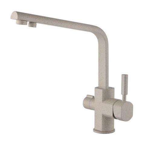 Смеситель KAISER Decor 40144-4 песочный мрамор для кухни под фильтр