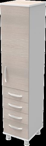 Шкаф медицинский общего назначения 1.02 тип 1 АйВуд Medical Office - фото