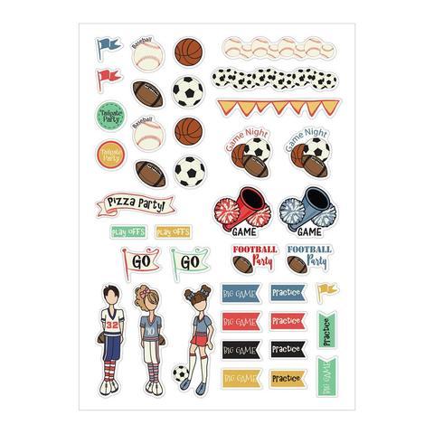 Набор стикеров Julie Nutting Planner Stickers- Sport-39шт