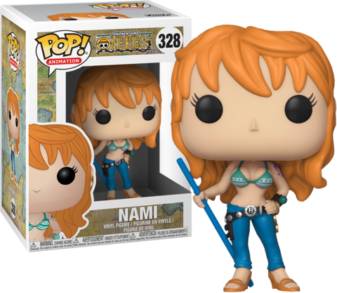 Nami (One Piece) Funko Pop! Vinyl Figure || Нами