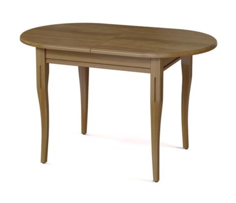 Стол обеденный Лемур деревянный овальный дуб