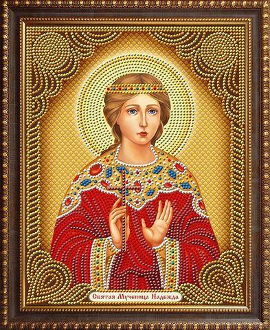 Алмазная Мозаика 27x33 Святая Мученица Надежда (арт. AS72606)