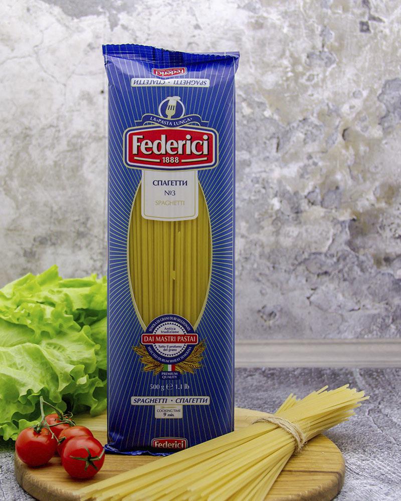 Cпагетти Federici 500 гр.