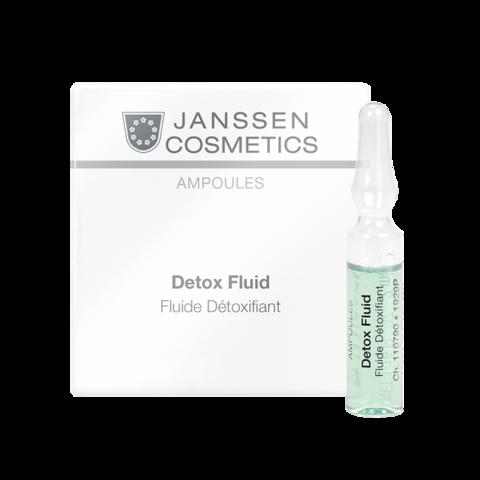 JANSSEN COSMETICS Детокс-сыворотка в ампулах | Detox Fluid 3х2 ml
