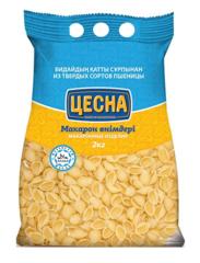 Макароны ЦЕСНА Ракушки 2 кг