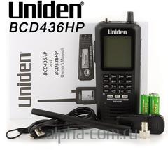 Uniden BCD436HP APCO25 Сканирующий приемник