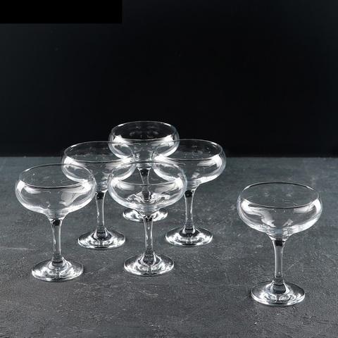 Набор из 6 бокалов для шампанского «Бистро», 260 мл