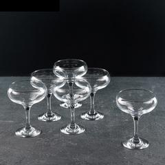 Набор из 6 бокалов для шампанского «Бистро», 260 мл, фото 1